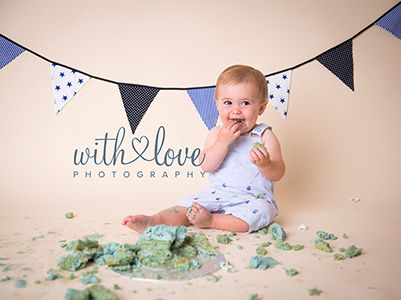 Cake Smash Photography Workington